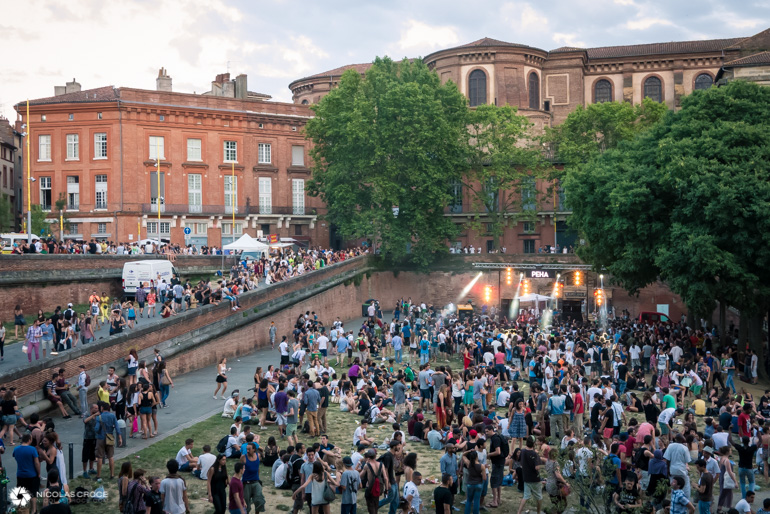 Toulouse - Fête de la musique - Place de la Daurade - DJ