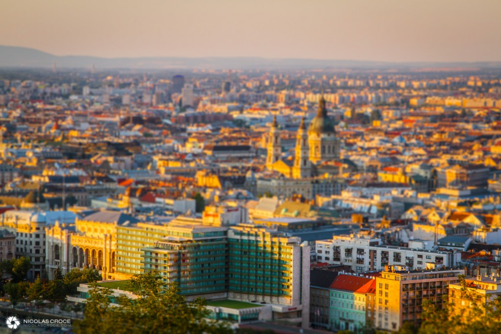 Panorama Budapest TiltShift