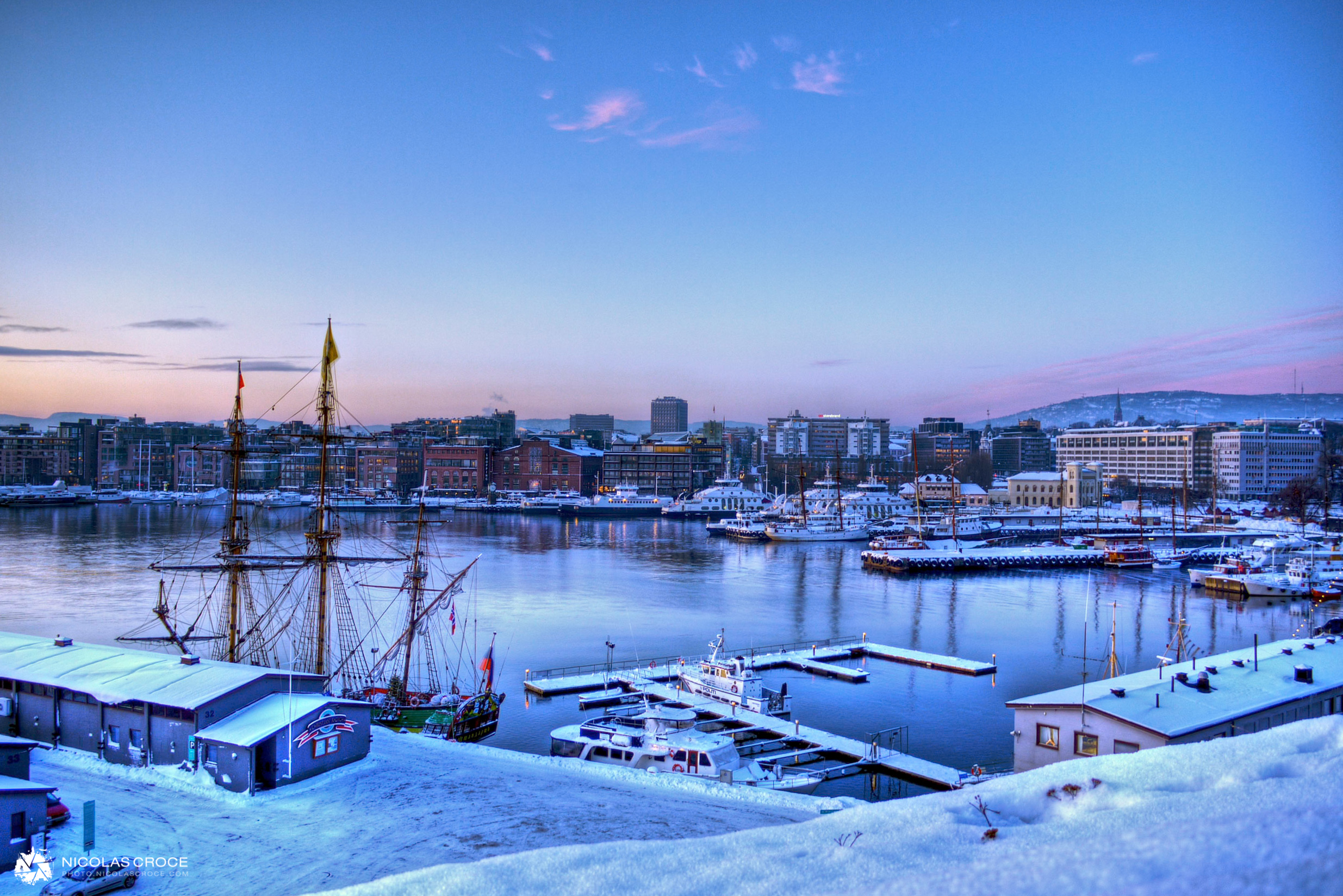Oslo - Aker Bridge - HDR
